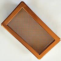Решетка вентиляционная (мідь) К4 195x335 (165x300)