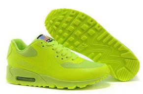 Женские кроссовки Nike Air Max  90 Hyperfuse салатовые 36,37р, фото 2