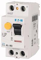 Устройство защитного отключения (УЗО) PF4-40/2/003 2P 40 А 30 мА тип AC, Eaton (Moeller)