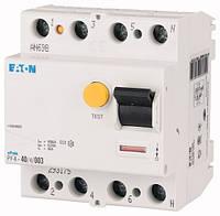 Устройство защитного отключения (УЗО) PF4-40/4/003 4P 40 А 30 мА тип AC, Eaton (Moeller), фото 1