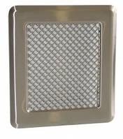 Каминная решетка (хром. шл.) К2 175x195 (140x165) , фото 1