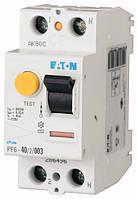 Устройство защитного отключения (УЗО) PF6-40/2/003 2P 40 А 30 мА тип AC, Eaton (Moeller), фото 1