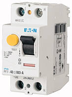 Устройство защитного отключения (УЗО) PF7-16/2/001-A 2P 16 А 10 мА тип A, Eaton (Moeller)