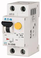 Дифференциальный автомат PFL6-16/1N/C/003 2P 16 А 30 мА характеристика C тип AC, Eaton (Moeller)