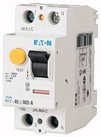 Устройство защитного отключения (УЗО) PF7-40/2/003-A 2P 40 А 30 мА тип A, Eaton (Moeller)