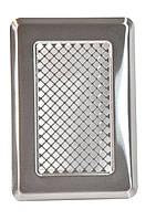 Вентиляционная решетка К 1 (хром. шл.)  135x195 (105х165)