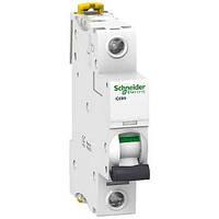 Автоматический выключатель iC60N 1P 10 А хар-ка C, Schneider Electric, фото 1