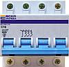 Автоматический выключатель ВА-2002 3P+N 16 А хар-ка C, АСКО-УКРЕМ