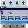 Автоматический выключатель ВА-2002 3P+N 25 А хар-ка C, АСКО-УКРЕМ