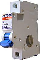Автоматический выключатель ВА-2010-S 1P 63 А хар-ка C, АСКО-УКРЕМ, фото 1