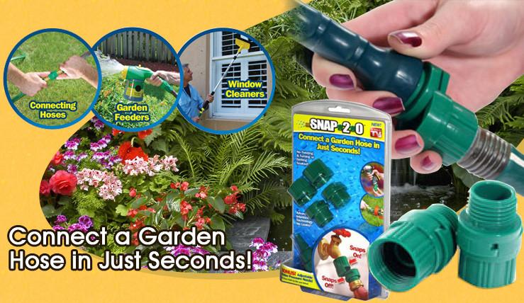 Універсальний з'єднувач для шлангу Snap 2.0 Garden