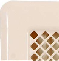 Вентиляционная решетка кремовая с жалюзями Кz1 135x195 (105х165), фото 1