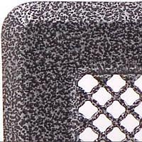Каминная решетка с жалюзями (антик срібло) Кz2 175x195 (140x165), фото 1