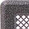 Решетка каминная с жалюзями (антик срібло) Кz3 175x245 (140x215)