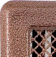 Решетка каминная с жалюзями (антик мідь) Кz4 195x335 (165x300)