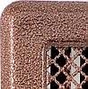 Каминная решетка с жалюзями (антик мідь) Кz5 195x485 (165x455)