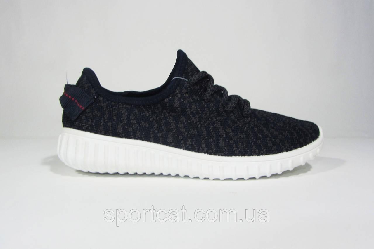 Женские кроссовки Adidas Yeezy Boost 350 Low, текстиль, черные