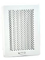 Решетка для камина с жалюзями белая Кz3 175x245 (140x215), фото 1