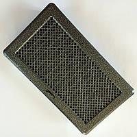 Решетка вентиляционная с жалюзями (антик срібло) Кz4 195x335 (165x300)