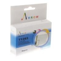 Картридж струйный Arrow для Epson Stylus SX125/SX420W/SX425W аналог C13T12834010 Magenta (T1283)
