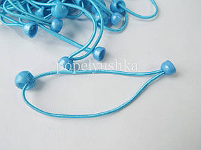 Резинка основа 9 см голубая