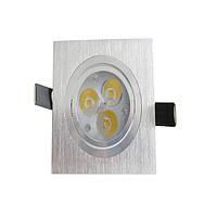 Потолочный светодиодный светильник на 1W светодиодах (3W)