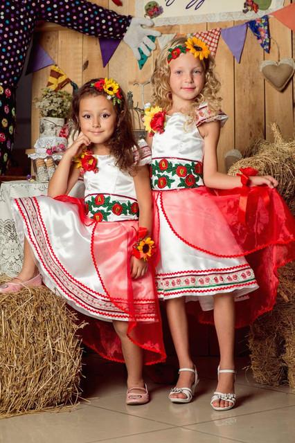 Платья в украинском стиле