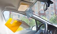 Антибликовый солнцезащитный козырек для авто HD Vision (Clear View)