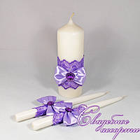 Набор свадебных свечей №21