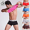 Трусы боксеры Calvin Klein Steel модал modal мужские нижнее мужское белье