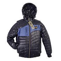 """Демисезонная куртка - трансформер на мальчика """"Волна"""", фото 1"""