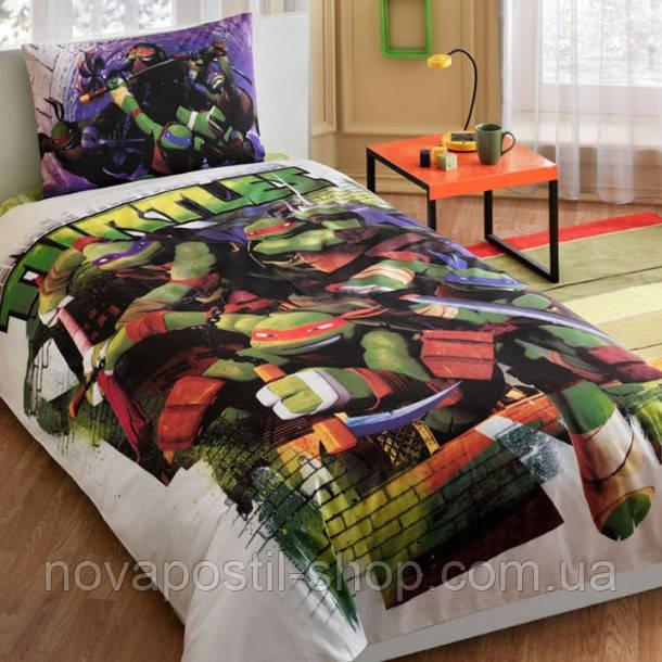 Комплект постельного белья ТАС NINJA TURTLES