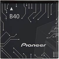 Аккумулятор для Prestigio MultiPhone 4322 Duo, Pioneer E60W оригинальный, батарея B40
