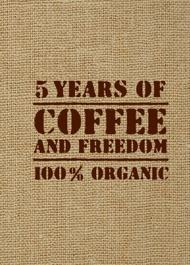 5 YEARS OF COFFEE AND FREEDOM.