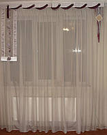 Жесткий ламбрикен Протяжка 2м, сирень, фото 1