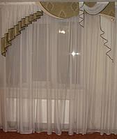 Жесткий  ламбрекен Стайл  зеленый,салатовый, фото 1