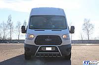 Ford Transit 2014 Кенгурятник WT003 (нерж.)