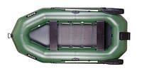 Надувная лодка Bark В-300N трехместная, гребная, с жестким настилом и транцем под подвесной мотор