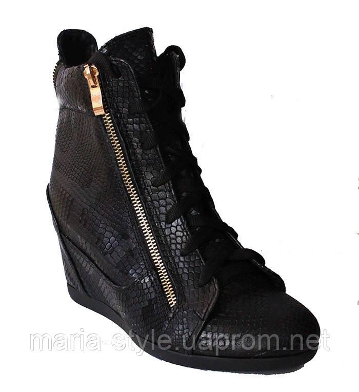 2581edaa0 Сникерсы кожаные черный питон: Продажа как оптом так и в розницу ...