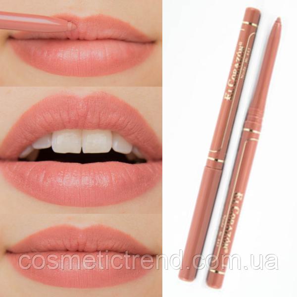 Карандаш для губ контурный механический Perfect Lips № 443 Nude El Corazon