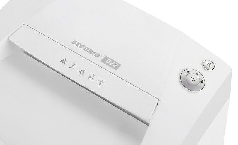 Уничтожитель документов HSM Securio B22 (3.9 мм.) для небольших офисов