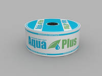 Лена капельная AQUA PLUS 8mil 20см 500л/ч 1000м (бухта) Купить, фото 1