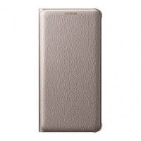 Original Flip Wallet Case для Samsung Galaxy A5 2016 Duos SM-A510 Gold