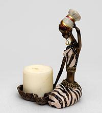 """Замечательный Подсвечник """"Африканская леди"""" купить в подарок"""