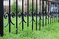 Оградка кованая на могилу, фото 1