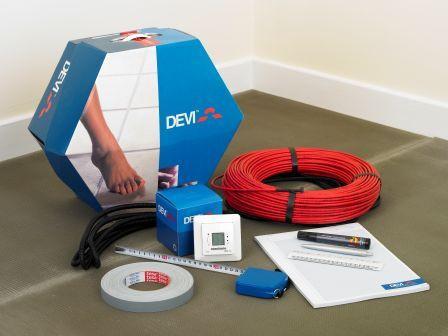 Нагревательный кабель DEVIflex 18T (DTIP-18), 68 м для теплого пола