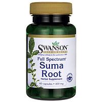 Корень Сумы (Бразильский Женьшень), 400 мг 60 капсул