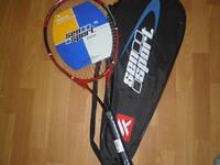 Ракетка для большого тенниса, 69,5 см., сборный корпус, в чехле