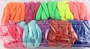 Бесшовная резинка для волос d 3 см цветная 100 шт/уп, фото 3