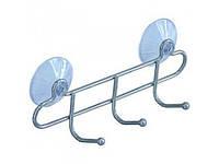 Крючок для полотенец тройной на присосках ARTEX